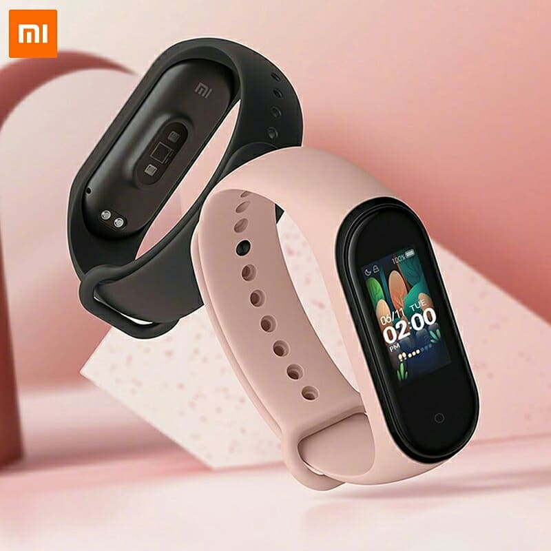 The fitness bracelet Xiaomi mi Band, Smart mi 4 band 3