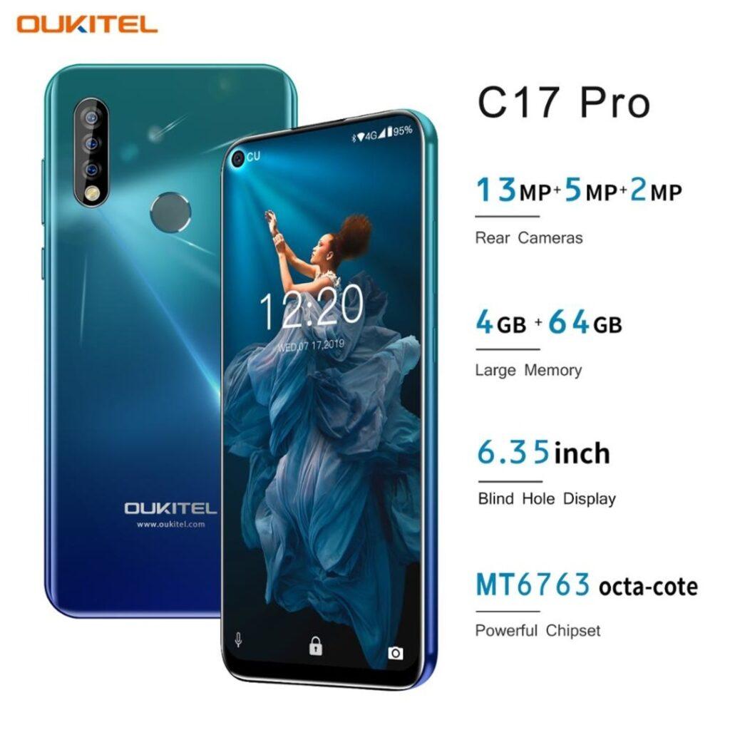 Smartphone OUKITEL C17 Pro