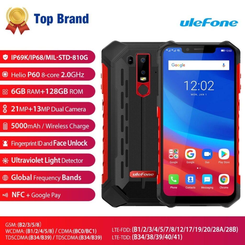Smartphone Ulefone Armor 6