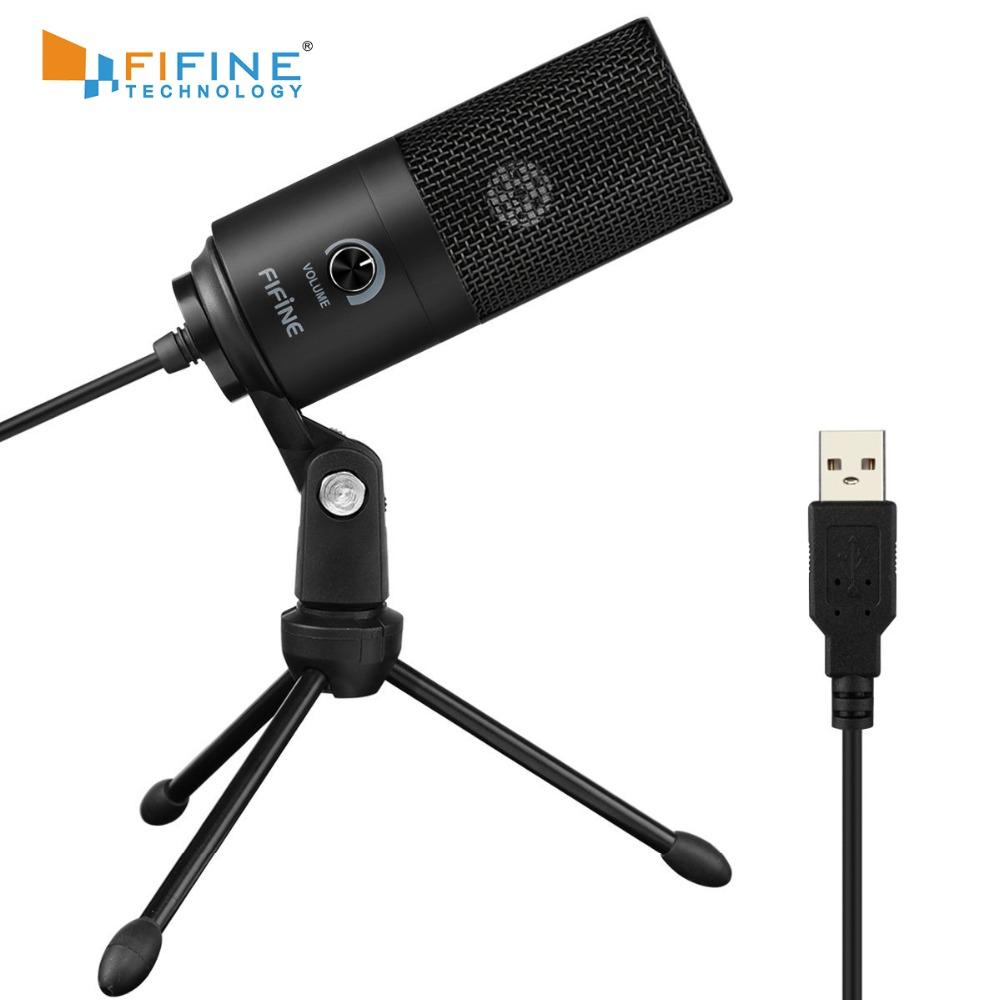 Fifine condenser microphone